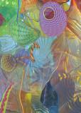 glass ceiling art 1