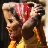 Woman from Agra - India