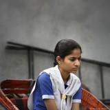 On the Way to School - Delhi, India