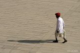 Man and his Shadow - Amber Fort, Jaipur, India