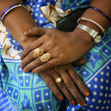 Hands and Rings - Delhi, India