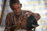 Barber and Customer | Mathura, India