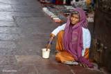 Sat by the Door | Agra, India
