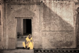 A Woman in Yellow Dress - Jaipur, India