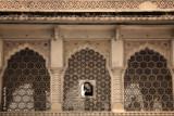 Window - Amber Fort of Jaipur, India