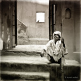 Sitting on Stairs, ver.2 | Jaipur, India