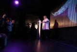 Mrs. Wallis Annenberg introduces the surprise entertainment