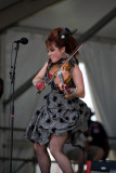 Amanda Shaw at the New Orleans Jazz Festival April 28th, 2012