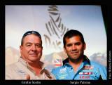 DAKAR 2012 Emilio Scotto con Sergio Petrone y su equipo MED (Misión Ezeiza Dakar)
