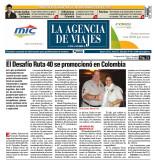 Presentaron lNPROTUR y Emilio Scotto el Desafio Ruta 40 Colombia AGENCIA DE VIAJES