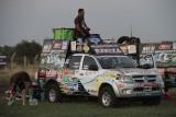 Emilio Scotto Ezeiza Dakar 2012 Auto de asistencia Sergio Petrone