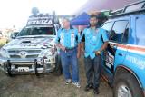 Emilio Scottoy Sergio Petrone Ezeiza Dakar 2012