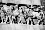 Building embellishment, Chicago, Black and White