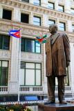 Benito Juarez statue, Chicago