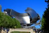 Jay Pritzker Pavilion - signature Frank Gehry design, Chicago