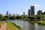 View of Chicago from Lincoln Park