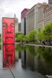 Crown fountain, Chicago by Jaume Plensa