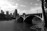 Minneapolis with the 3rd Ave. bridge
