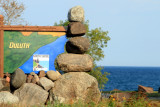 Stones Arranged, North Shore Scenic Drive, Duluth to Two Harbors