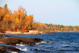 Fall Colors, Lake Superior, North Shore Scenic Drive, Duluth to Two Harbors, MN