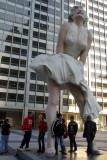 Forever Marilyn by J. Seward Johnson, Michigan Avenue, Chicago