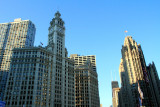 Wrigley Building and the Tribune building, Chicago