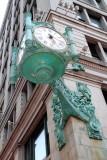 Macy's clock, Chicago