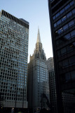 Chicago Temple and First Methodist Church in front of the Daley Center, Chicago