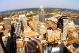View from Carew Tower, Cincinnati, Ohio