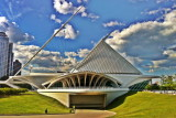Milwaukee Art Museum, HDR