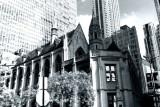 Archbishop Quigley Preparatory Seminary, Chicago, Black and White