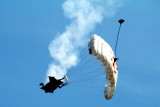Chicago Air and Water Show 2012 - Red Bull parachute team