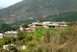 Village near