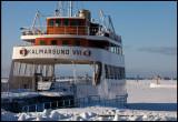 The old ferry Kalmarsund VIII at Färjestaden