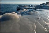 Ice at Gräsgårds hamn Öland
