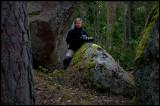 In John Bauer type forrest - Norra Kvill National Park