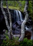 Waterfall near Verdal - Norway