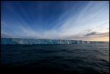 The Ice edge at Noraustlandet