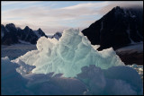 Ice formation near Monacobreen - Svalbard
