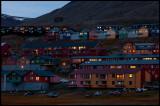 Evening light at Longyearbyen