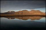 Evening light in Adventdalen