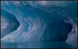 Floating ice near Monacobreen