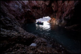 Cruising in the cave near Blomstrandhamna