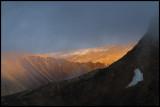 Evening light near Monacobreen