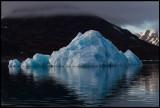 A small iceberg in Liefdefjorden