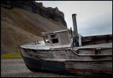 An old boat in Skansebukta