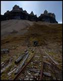 The old mine in Skansebukta