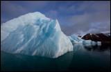 Small iceberg in Liefdefjorden