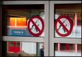 No weapons allowed in the bank !!