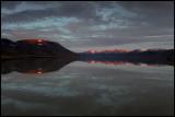 The water reservoir near Longyearbyen